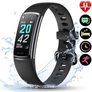 Letscom HR Fitness Tracker