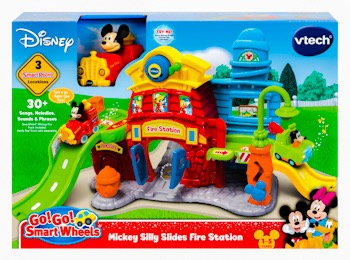 Disney Mickey Mouse Silly Slides Fire Station