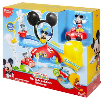 Fisher-Price Disney Mickey Mouse Clubhouse – Zip, Slide & Zoom Clubhouse