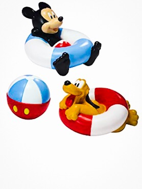 The First Years Disney Baby Mickey Mouse Bathtime Squirt Toys