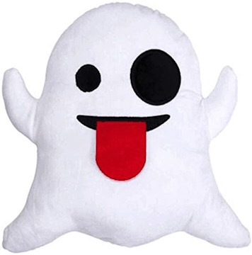 The white ghost pillow for kids