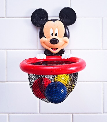 The First Years Shoot and Store Mickey Mouse Bath Toy