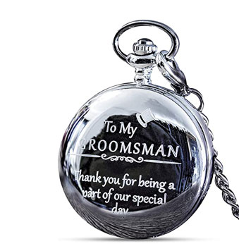 Groomsmen Gifts for Wedding Pocket Watch