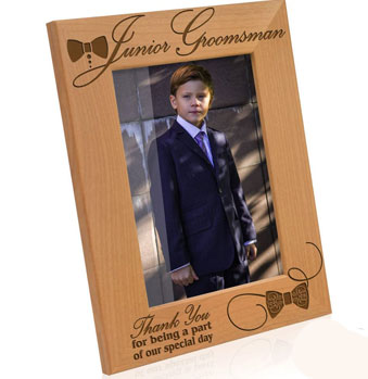 Kate Posh – Junior Groomsman Picture Frame